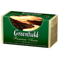 Чай Greenfield Premium Assam чорний 25*2г