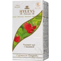 Чай Хейліс Гармонія Природи чорний з малиною 25*1,5г