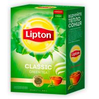 Чай Lipton Classic зелений листовий 80г