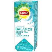 Чай Lipton Mint зелений 25*1,6г