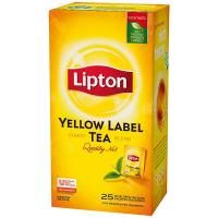 Чай Lipton Yellow Label чорний 25*1,8г