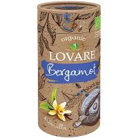 Чай Lovare Bergamot organic чорний тубус 60г