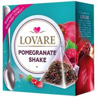 Чай Lovare Гранатовий шейк 15пірамідок*2г