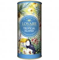 Чай Lovare Тропічний острів тубус 80г