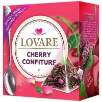 Чай Lovare Вишневий конфітюр 15пірамідок*2г