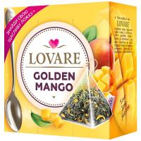 Чай Lovare Золотий манго 15пірамідок*2г