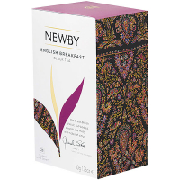Чай Newby English Breakfast чоринй 25пак.*2г