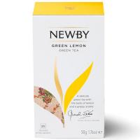 Чай Newby Green Lemon зелений 25*2гр