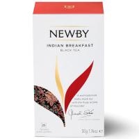 Чай Newby Індійський сніданок чорний 25*2гр