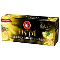 Чай Принцеса Нурі лимонно-імбірний мікс 25*1,5г