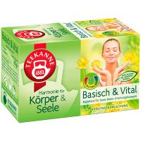 Чай Teekanne Basisch & Vital трав яний 20п*2г