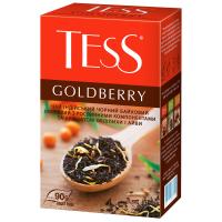 Чай Tess Goldberry чорний 90г