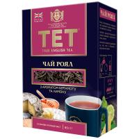 Чай Тет Роял чорний з бергамотом та лимоном 85г