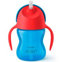 Чашка Avent з трубочкою 210мл 9міс.+ д/хлопчика SCF796/01