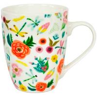 Чашка Keramia Flower Story 360мл арт.21-279-103