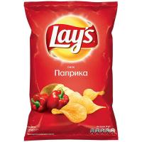 Чіпси Lays Паприка 133г