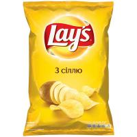 Чіпси Lays з сіллю 133г