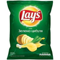 Чіпси Lays Зелена цибуля 71г