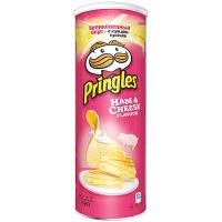 Чіпси Pringles шинка-сир 165г
