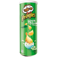 Чіпси Pringles Sour Sour Cream&Onion 165г
