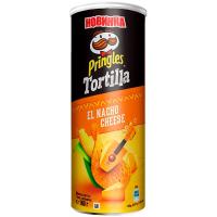 Чіпси Pringles Tortilla кукурудзяні зі смаком сиру 160г