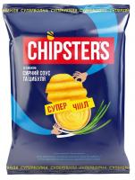 Чіпси Chipsters зі смаком Сирний соус з цибулею 110г