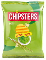 Чіпси Chipsters зі смаком Васабі 110г