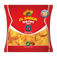Чіпси El Sabor кукурудзяні зі смаком перцю чилі 225г