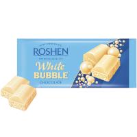 Шоколад Roshen пористий білий 85г х40