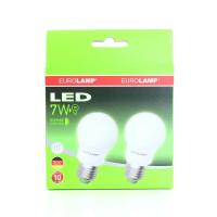 Лампа Eurolamp LED 7W Е27 Ra93 4000K 2шт арт.07274(E) x12