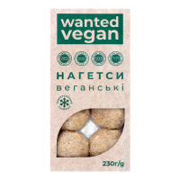 Нагетси Wanted Vegan веганські 230г