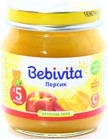 Пюре Bebivita персик с/б 100г