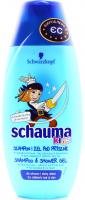 Шампунь-гель Schauma Kids для дітей  250мл