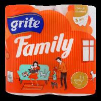 Туалетний папір Grite Family, 4 шт.