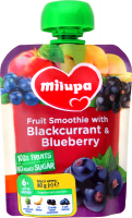 Пюре Nutricia Milupa Яблуко,банан, чор.смородина, чорн. 80г