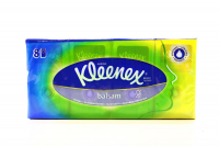 Хустки Kleenex носові balsam 8*10шт х10