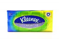 Хустинки носові паперові Kleenex Balsam, 8 пачок