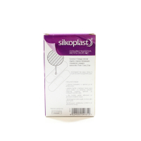 Пластир Silkoplast вологостійкий 20шт х10.