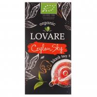 Чай Lovare Organic чорний 24*1,5г