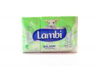 Хустинки носові паперові Lambi Balsam Aloe Vera, 6 пачок