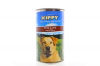 Корм Kippy Консерви для собак паштет Ягня-рис 1,25кг х10.