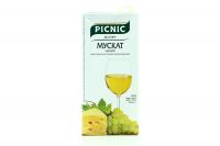 Вино Picnic Мускат біле н/солодке 1л B&B х6