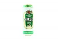 Пиво Hollandia преміум з/б 0,5л х6