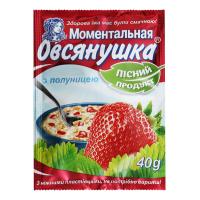 Каша Вівсянушка з полуницею 40г х22