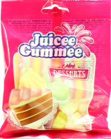 Цукерки Juicee Gummee Солодкий десерт 80г х12