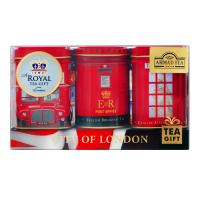 Чай Ahmad Лондон Сіті набір з трьох банок 25г*3