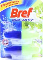 Засіб Bref Duo-aktive д/чищ.унітазу Лайм і м`ята 2*50мл