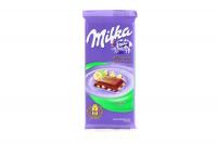 Шоколад Milka молочний з лісовим горіхом 90г х28