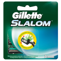 Картриджі Gillette Slalom Plus 3шт