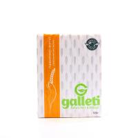 Хлібці Galleti Житні з висівками б/дріжджів та цукру 100г х6